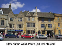 Stow on the Wold. Photo (c) FreeFoto.com