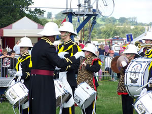 Marine Band at Moreton Show, Photo (c) Moretonshow.co.uk