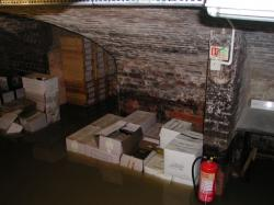 Flooded Cellars at Edward Sheldon