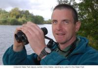 Cotswold Water Park deputy warden Chris Walker