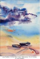 June Redfern, On the West Coast, Watercolour, (c) June Redfern