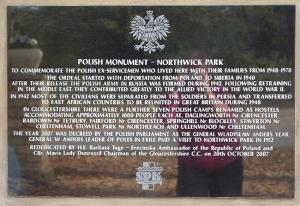 Northwick Park Memorial (c) northwickparkpolishdpcamp.co.uk