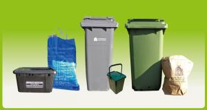 The new Cotswold Waste bins and bags
